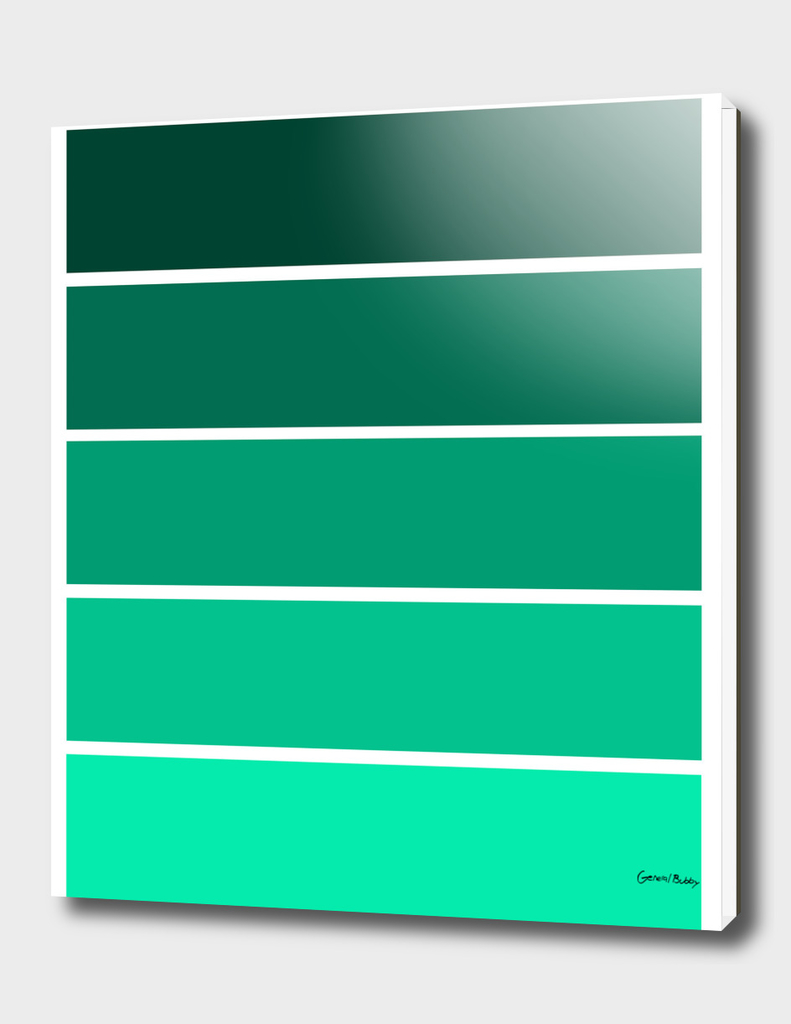 Colour Bars - TEAL