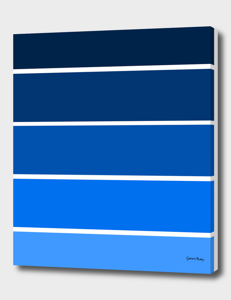 Colour Bars- BLUE