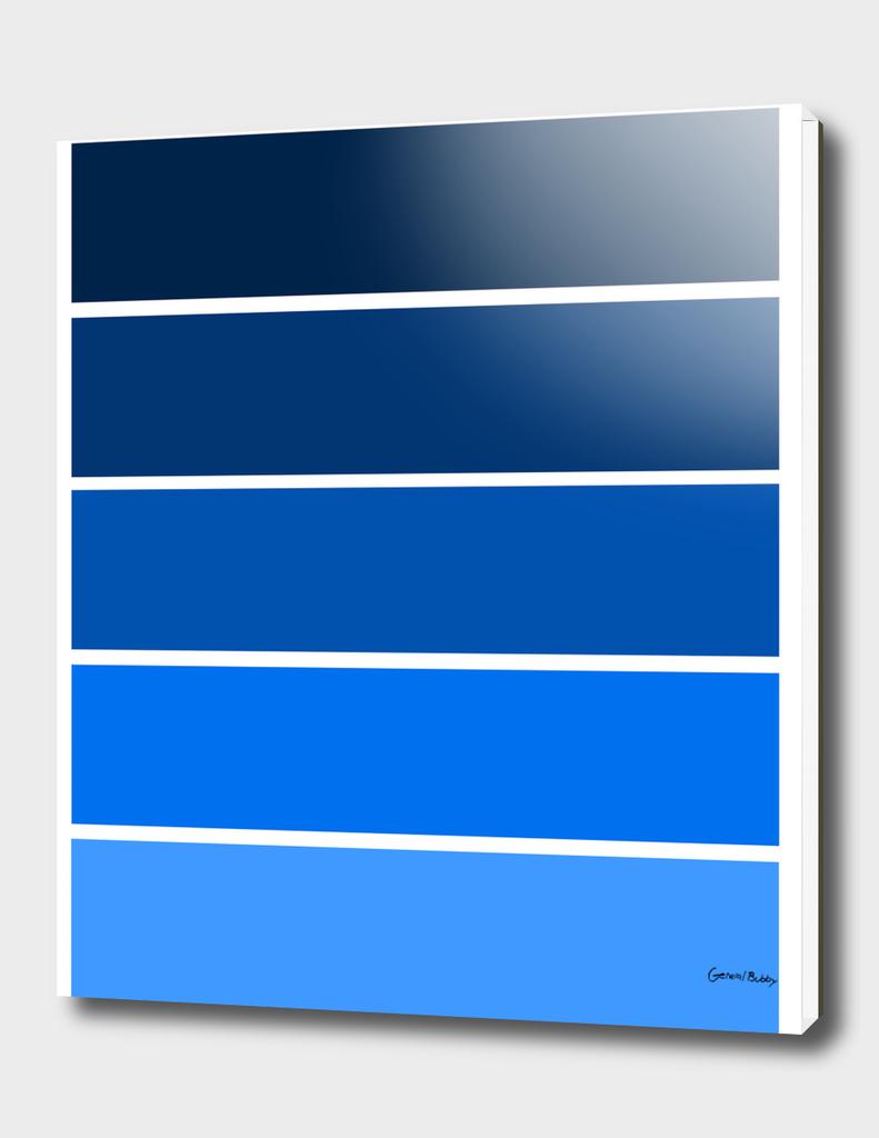 Colour Bars- BLUE