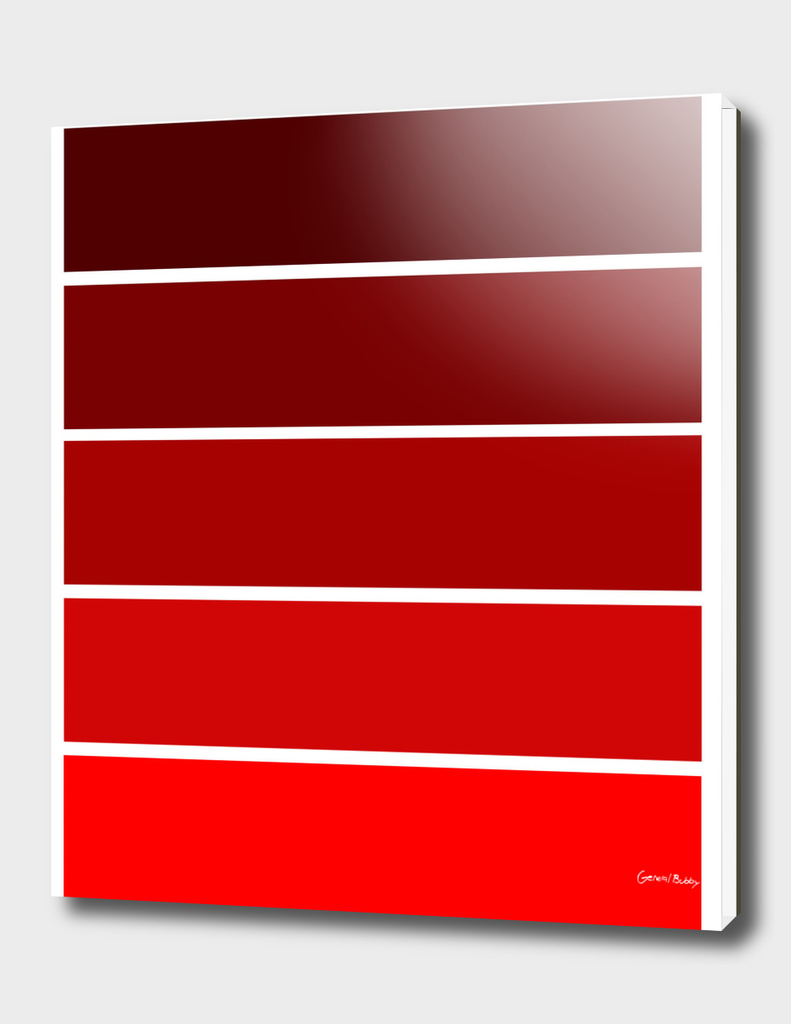 Colour Bars - RED