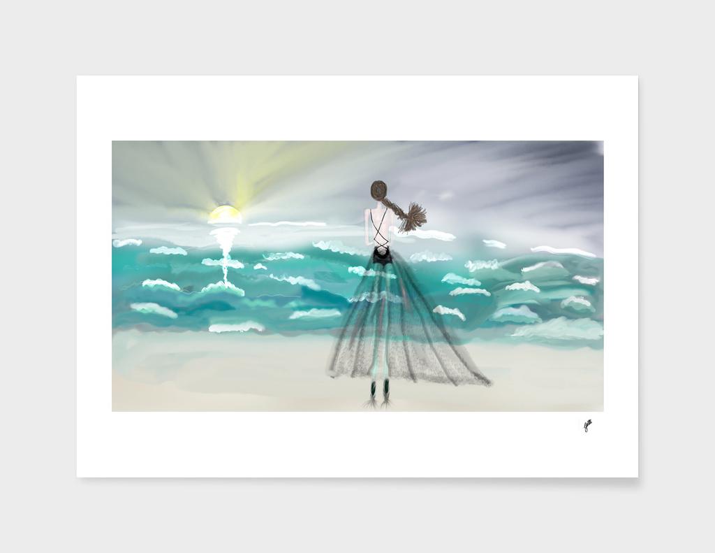Ballerina sun salutation