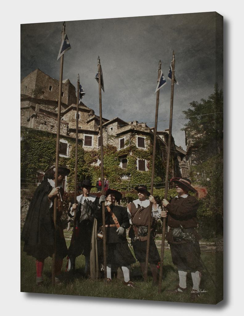Milizia Paesana, drappello di Picchieri