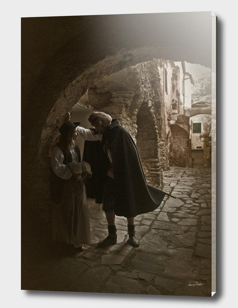 Milizia Paesana, Romantic Scene