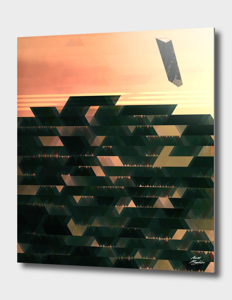 GlassHill Tetris with Monoliths