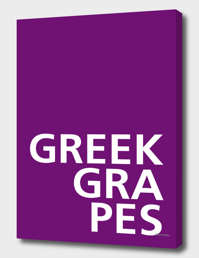 Greek Grapes – A Tongue Twisters
