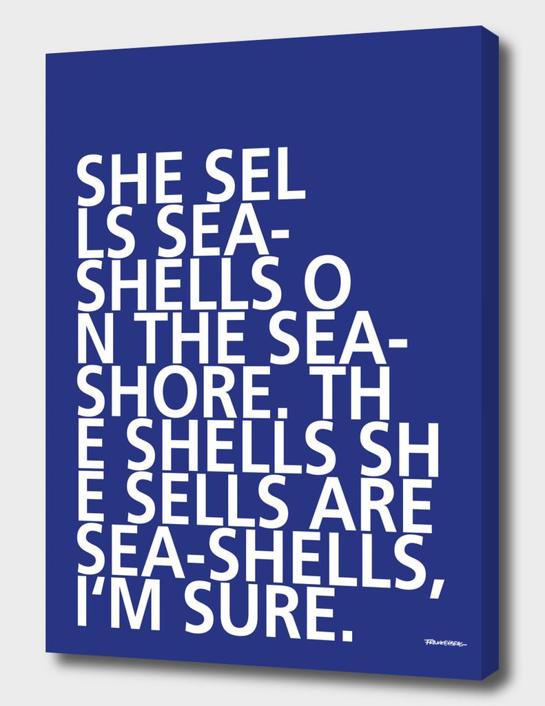 She sells Sea-Shells