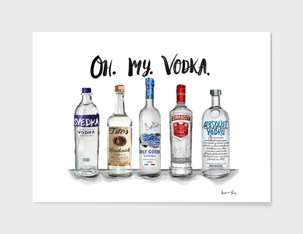 Oh. My. Vodka.
