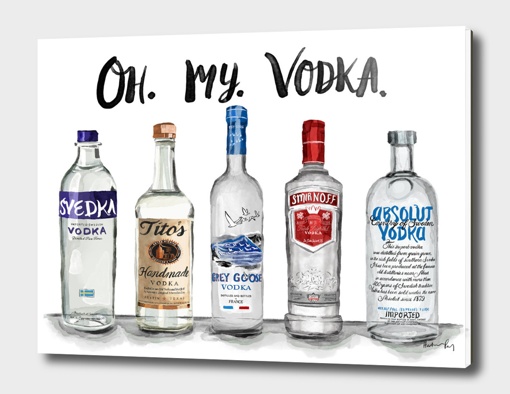 Oh. My. Vodka.