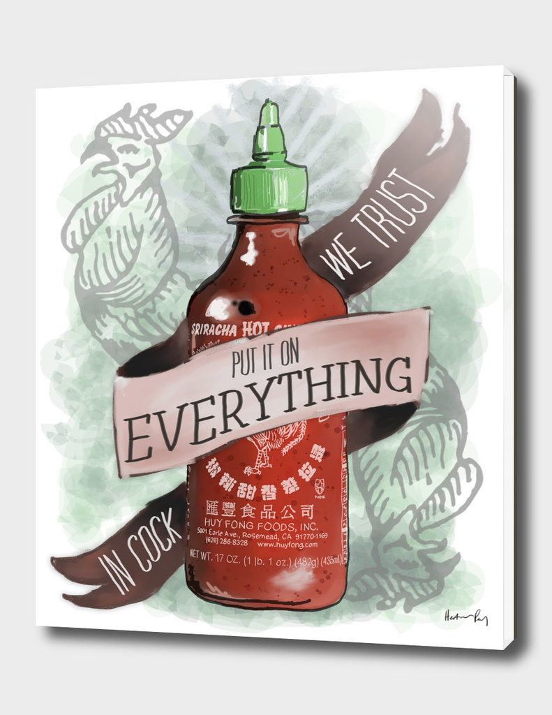 An Ode To Sriracha