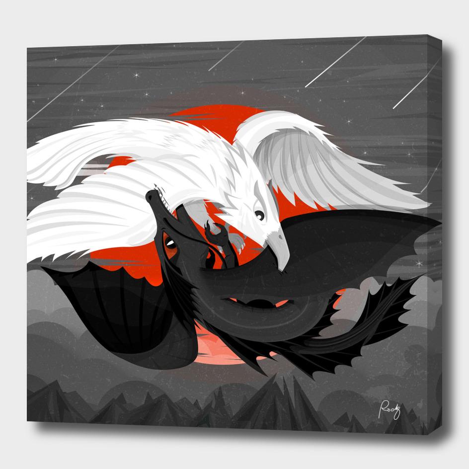 Yin Yang Creatures
