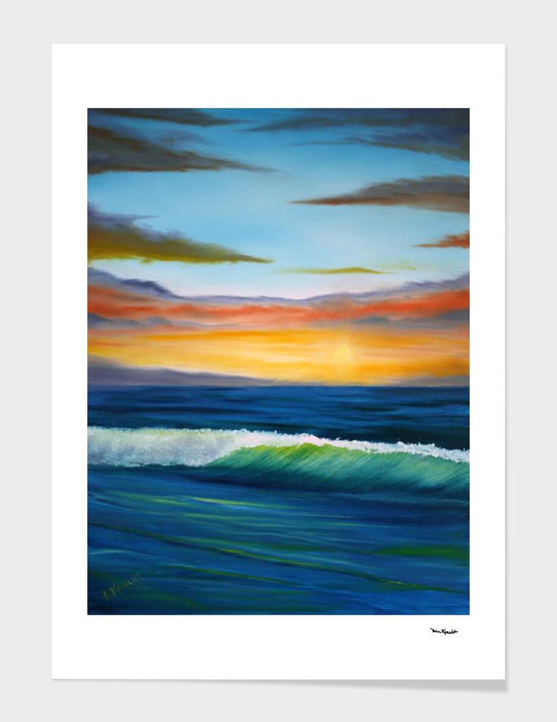 Cape Cod Sunrise 2  AK110