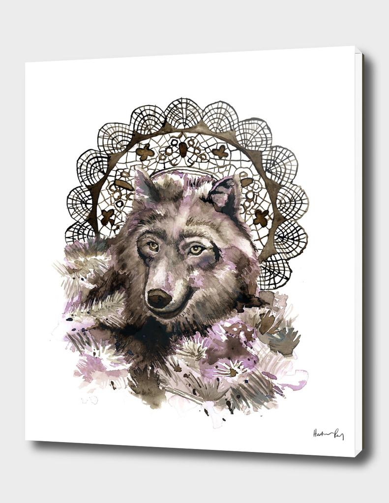 Medallion Wolf