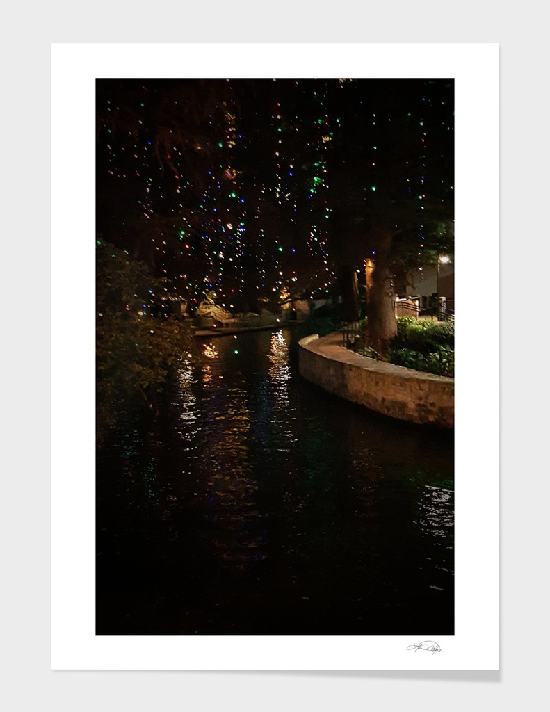 Riverwalk San Antonio Texas at Christmas