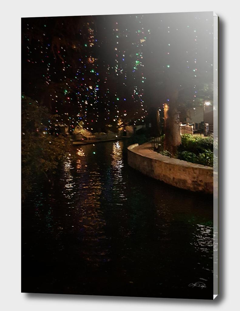 Riverwalk San Antonio Texas at Christmas