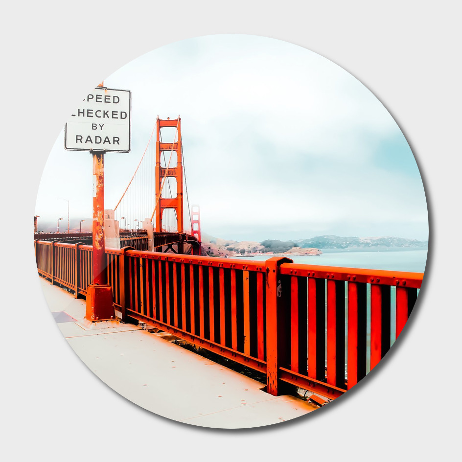 view from the Golden Gate Bridge, San Francisco, USA