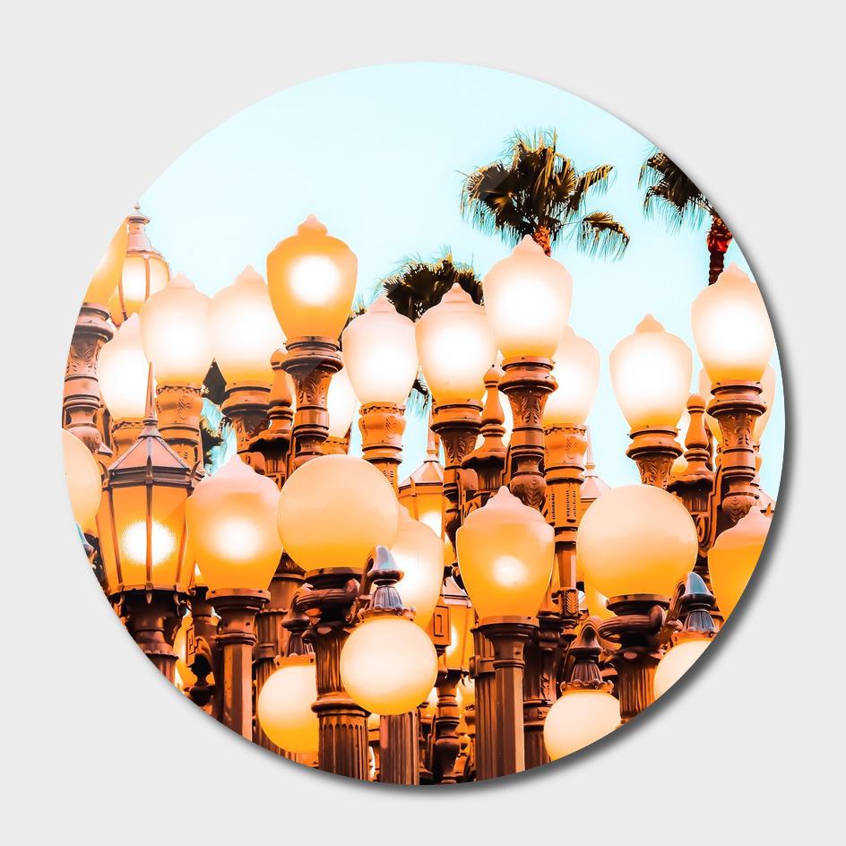 Urban Lights at LACMA art museum, Los Angeles