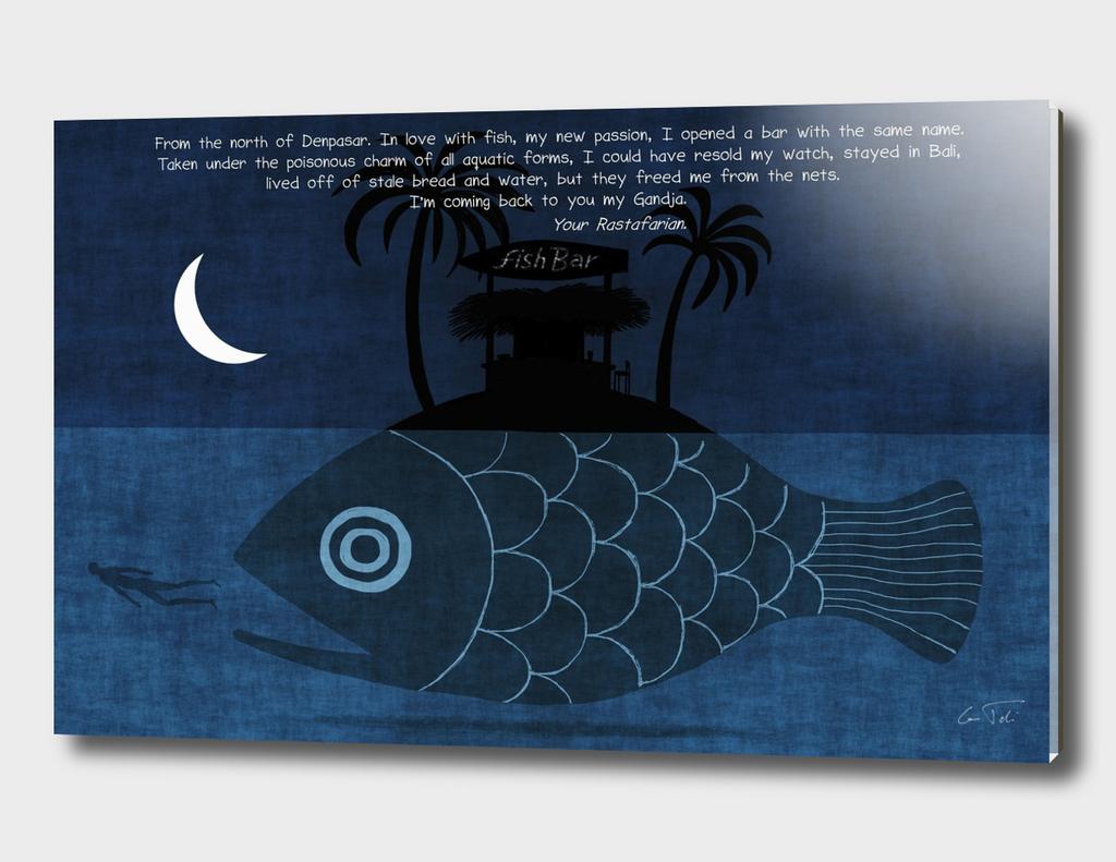 """Denpasar"" Text E.Tchijakoff - Illustration Toni Demuro"