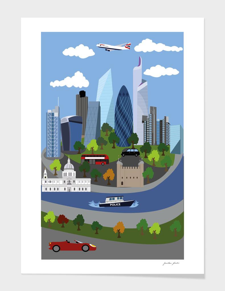 London Illustration 2