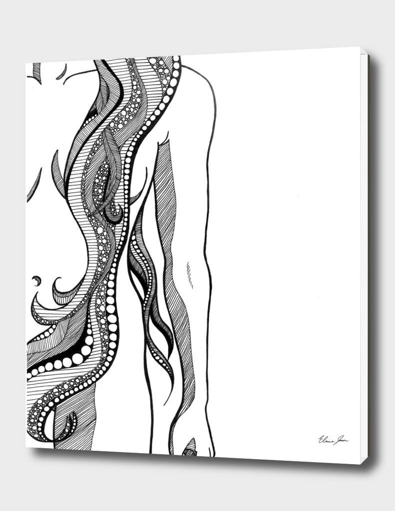 Woman Tangle