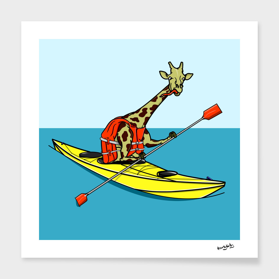 Giraffe Sea Kayaking