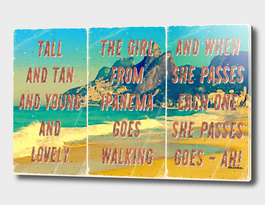 Girl from Ipanema - Triptych - A Hell Songbook Edition