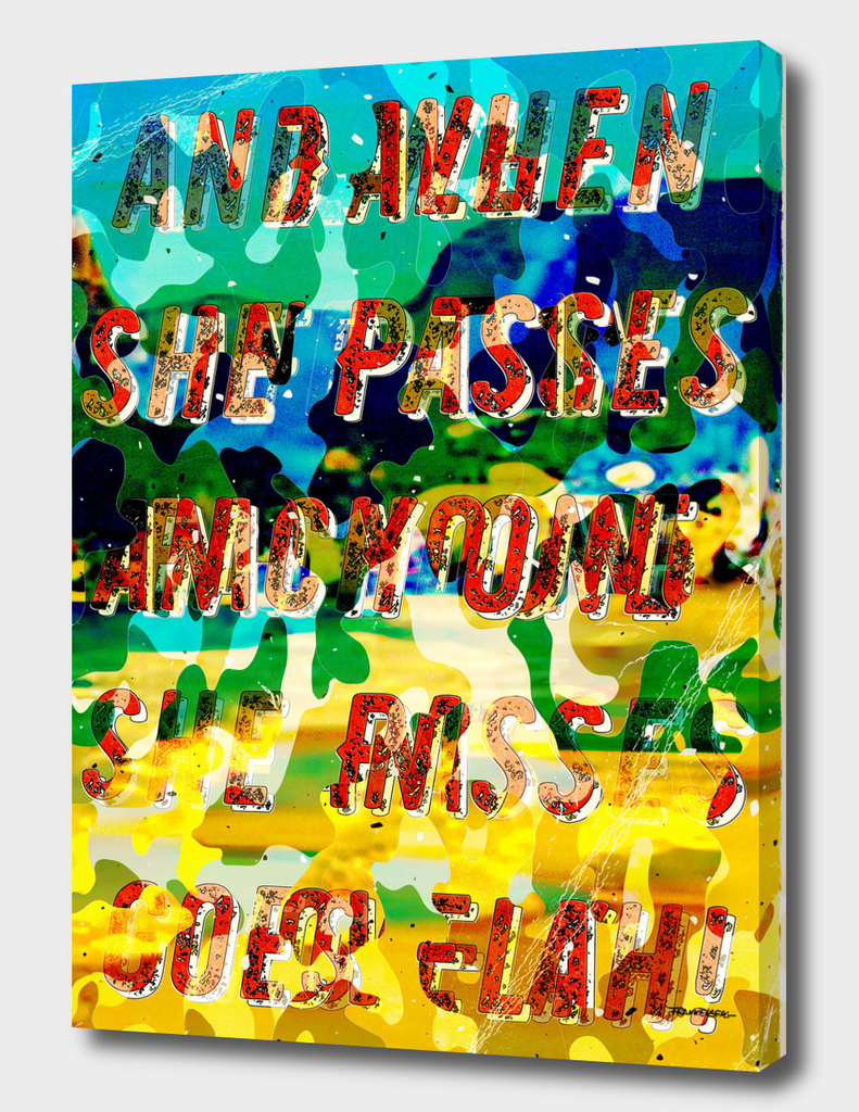 Girl from Ipanema - Decollage#2 - A Hell Songbook Edition