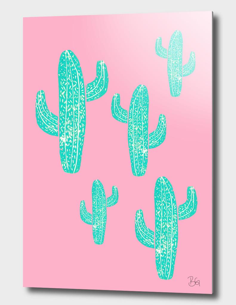 Linocut Cacti Candy