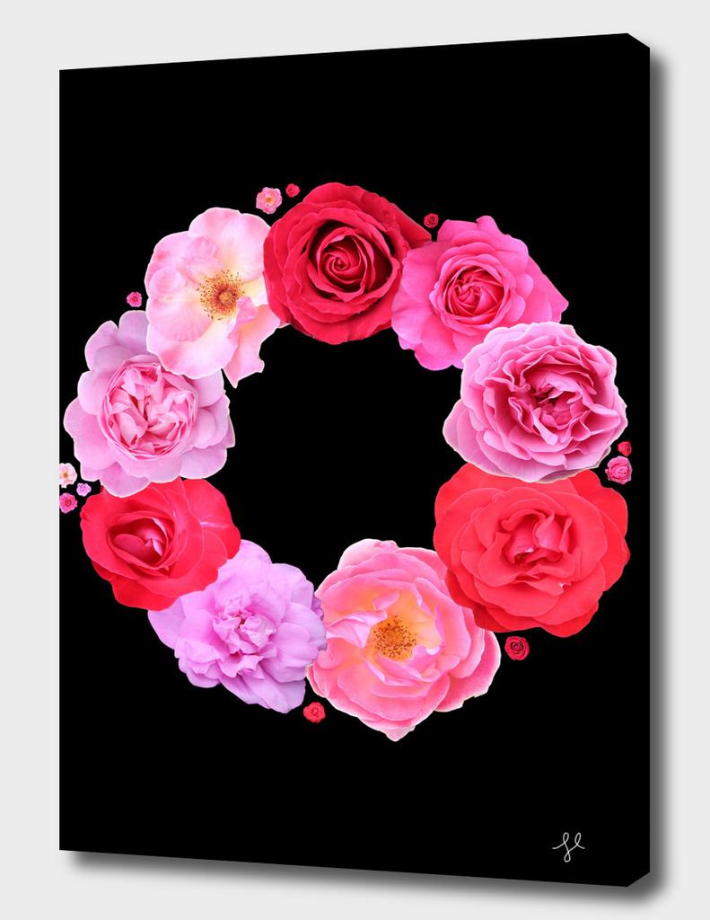 Rose Wreath III