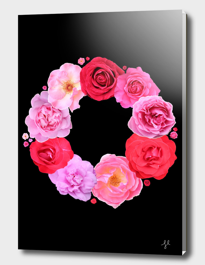 Rose Wreath III