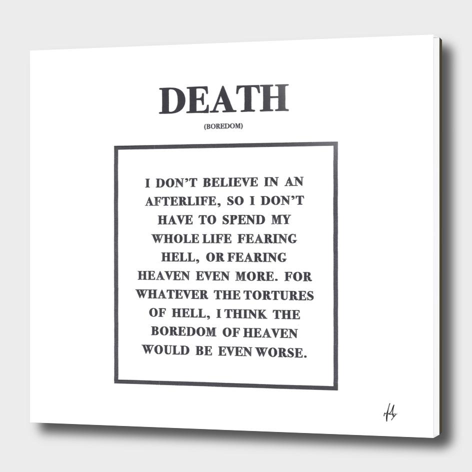 Death Text