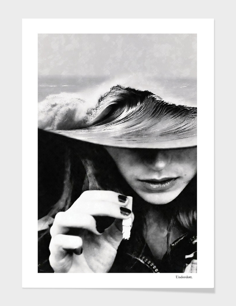 Waves and cigarettes