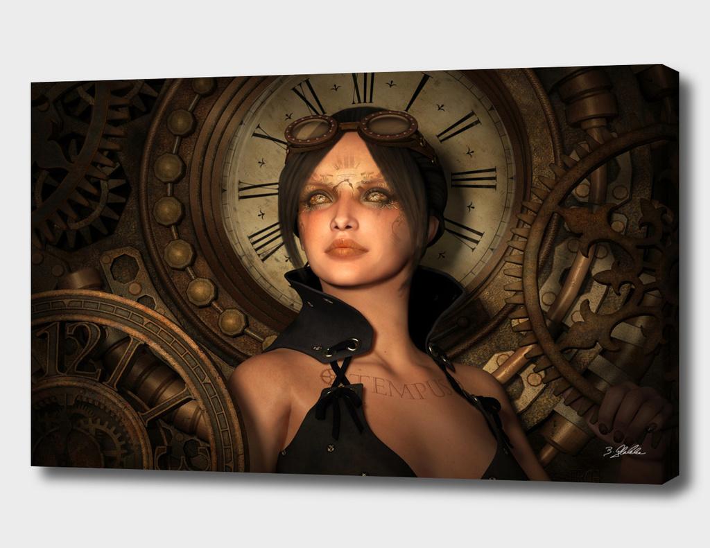 Steampunk Time Keeper