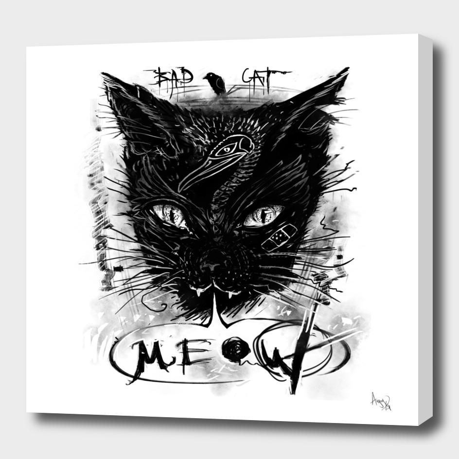 Bad Black Cat