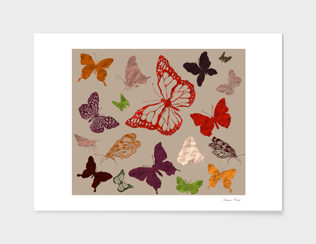 Autumn butterflys