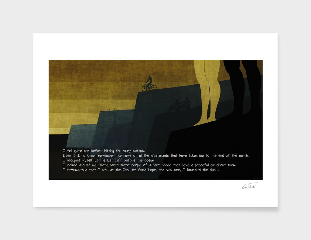 """""""Capetown"""" Text E.Tchijakoff - Illustration Toni Demuro"""