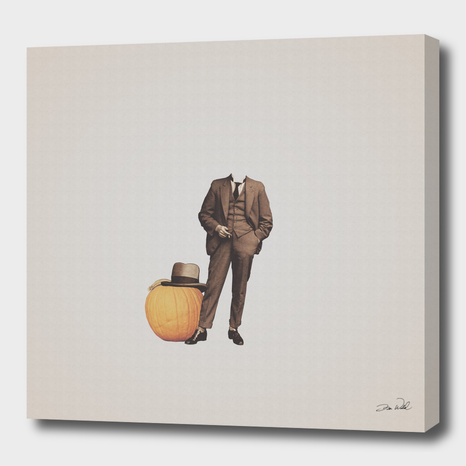 Pumpkin Mugshot
