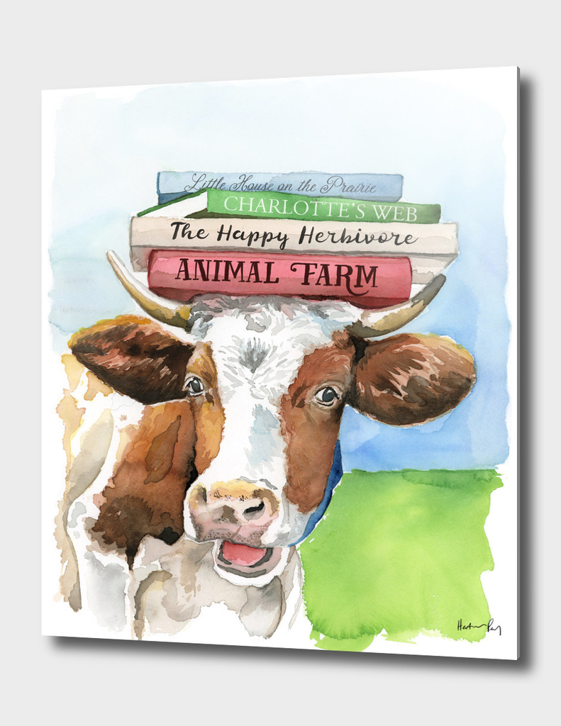 A Literary Cow