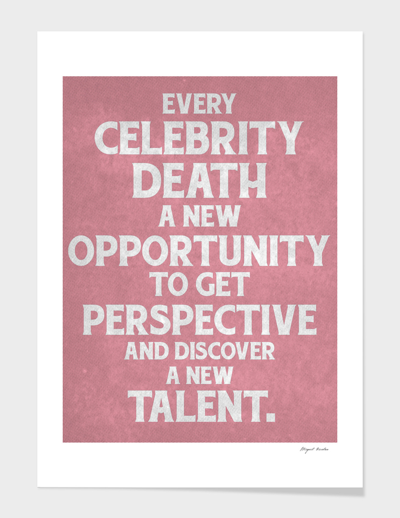 Celebrity Perspective