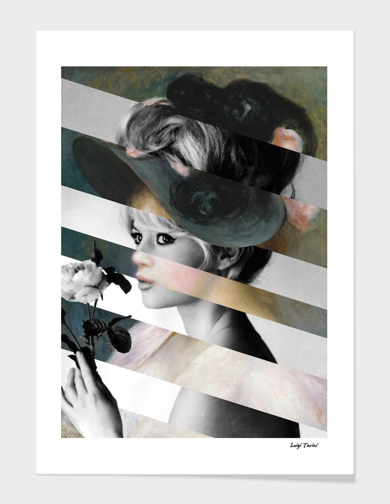 Renoir's Young Girl in a Black Hat & Brigitte Bardot