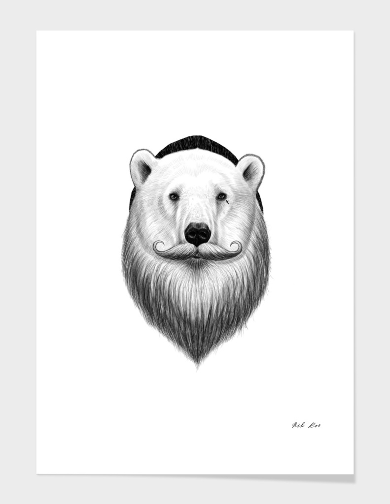 bearded polar bear