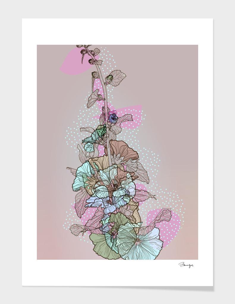 Pastel flowers, BeaYourself