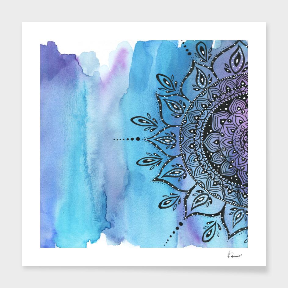 Blue Mandala