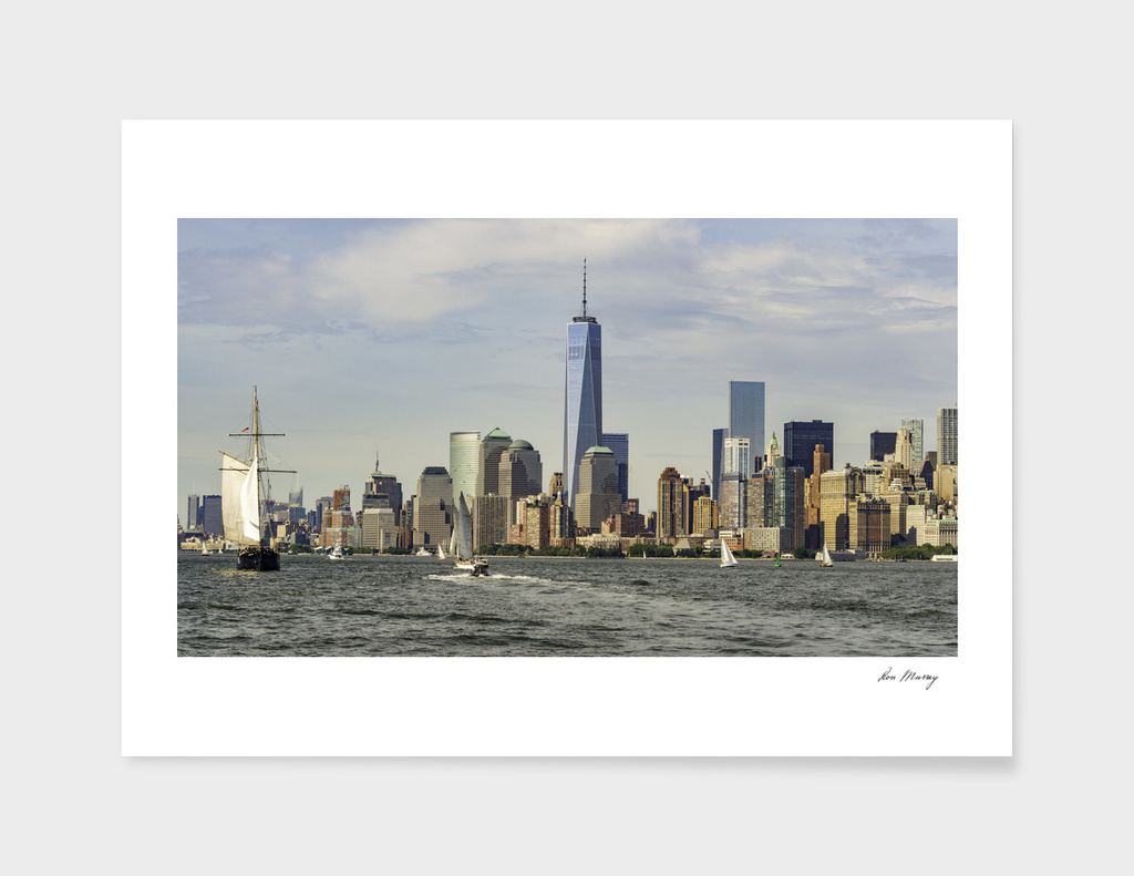 Ney York City Skyline