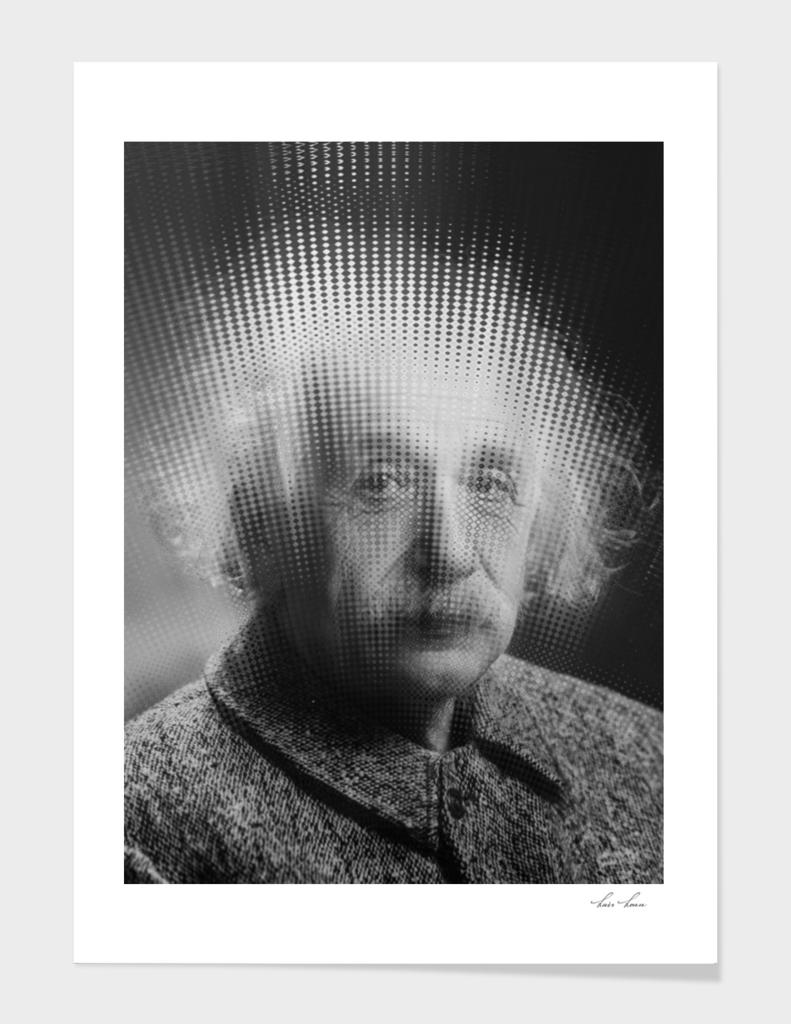 Albert Einstein Physics Simulation Particle Effect Gr
