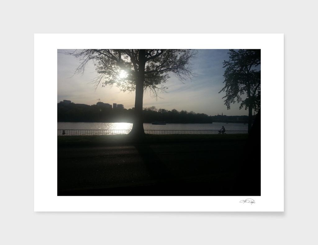 Washinton DC sunset 1