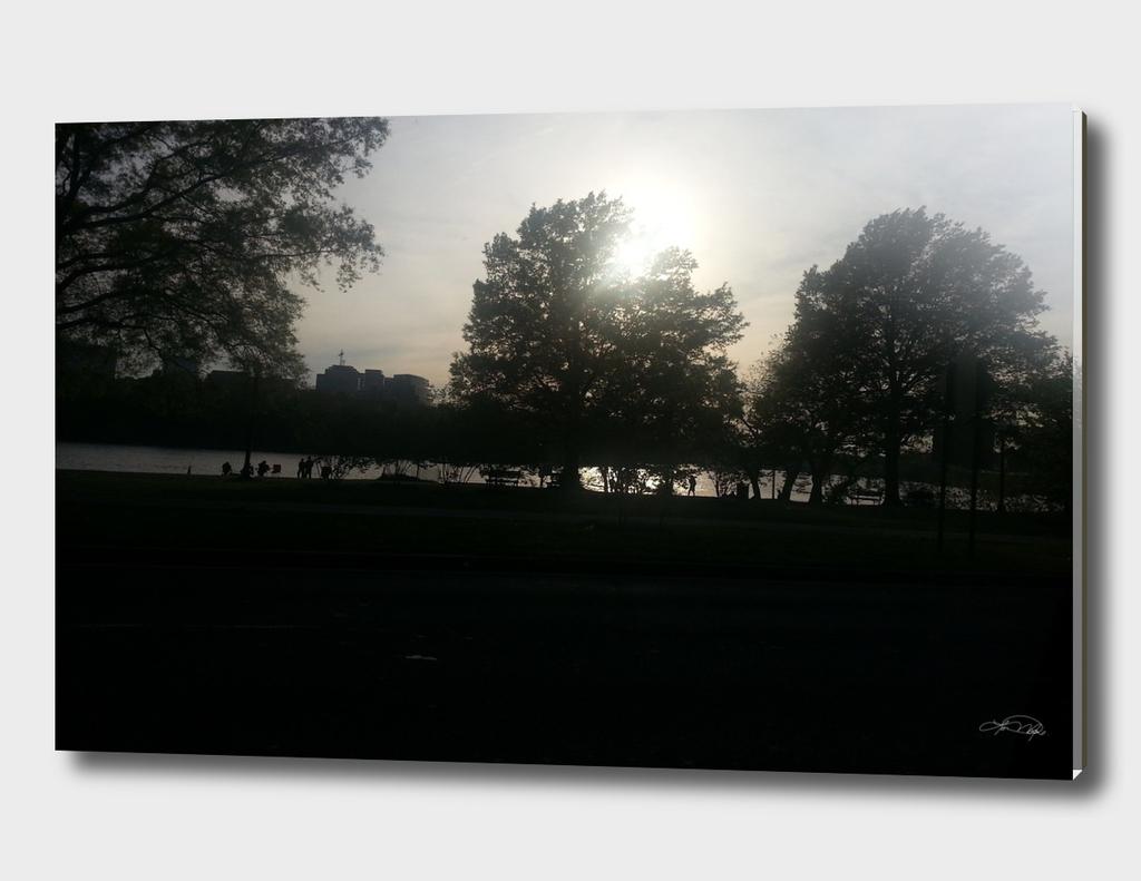 Sunset Washington DC