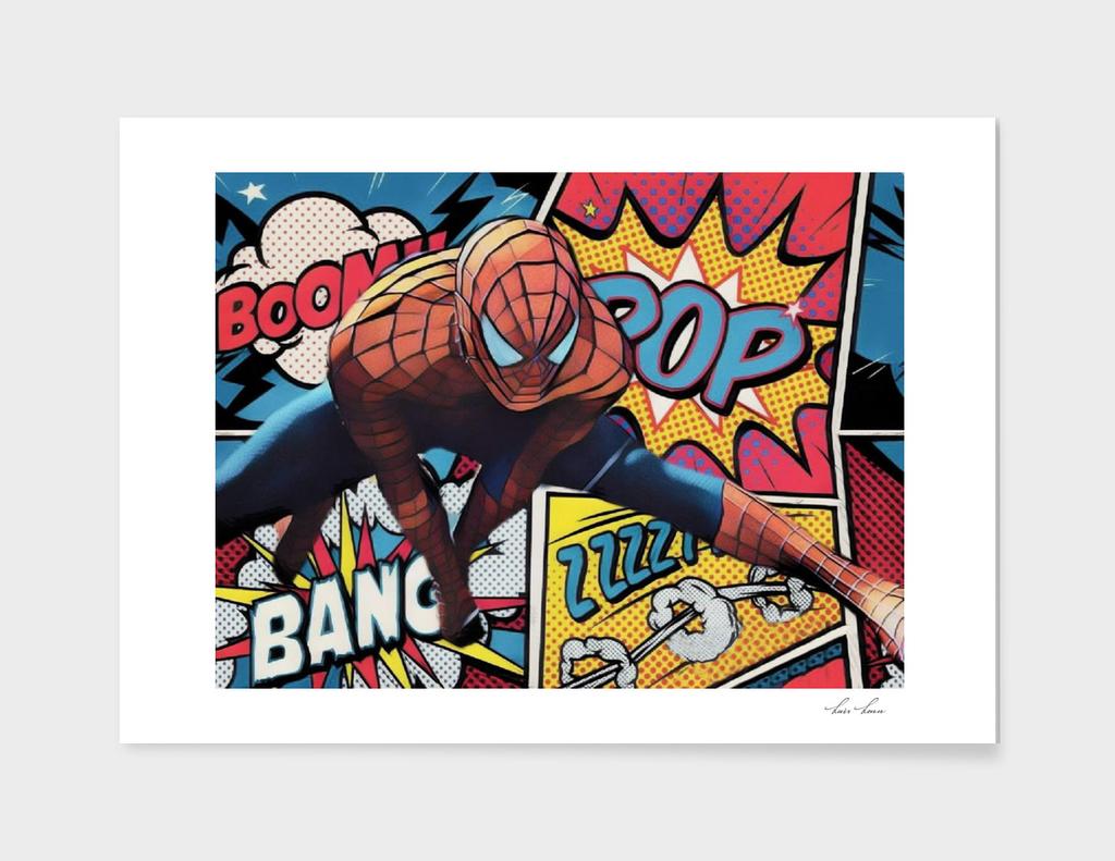 Spiderman Comic Portrait Legendary Memories Best Movi