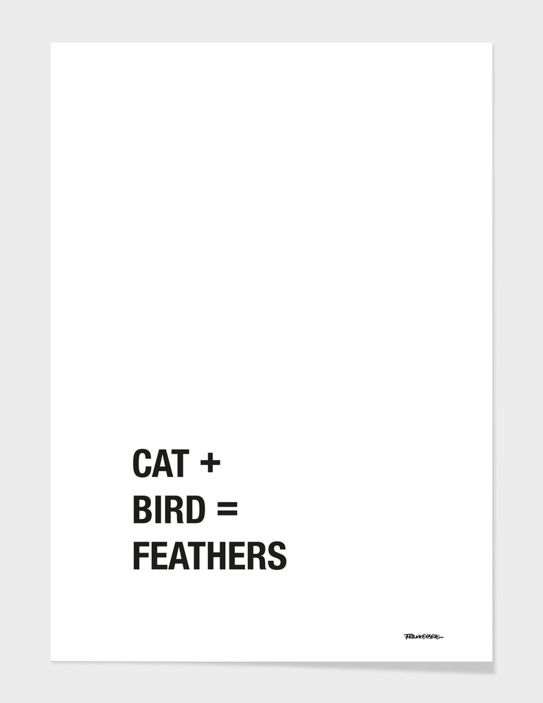 Cat + Bird