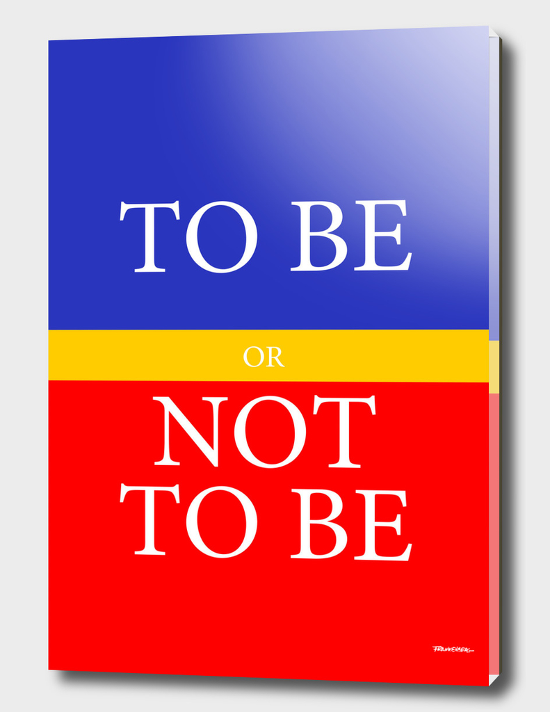 to be - OR