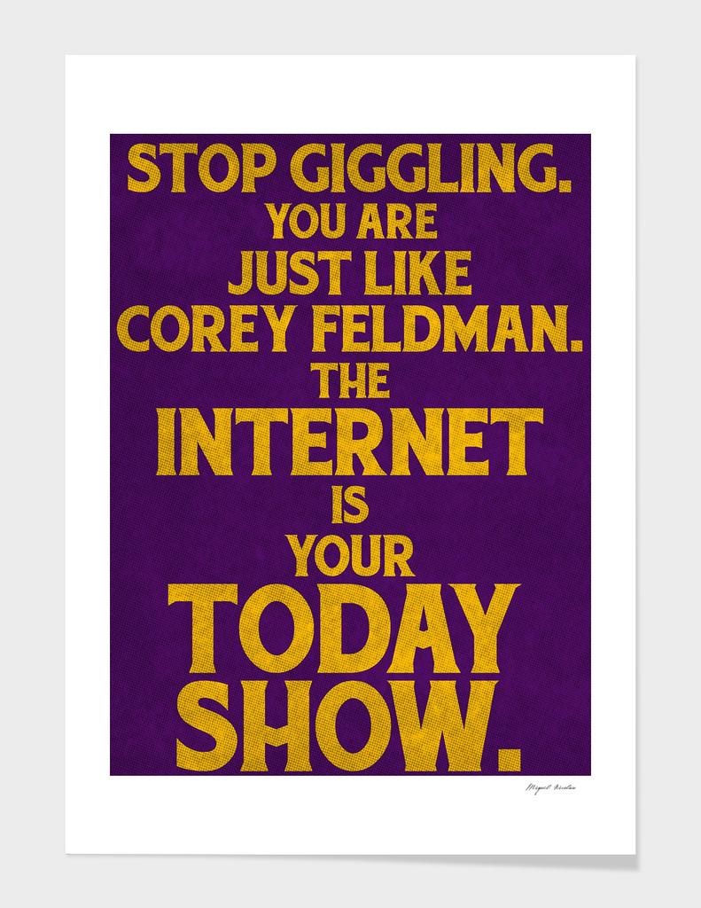 You, Feldman